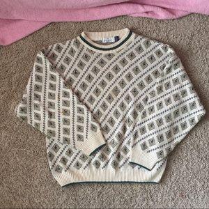 Vtg Chunky Bill Blass sweater